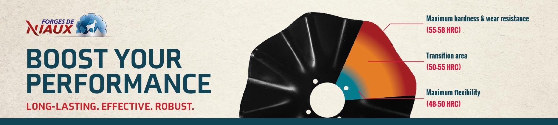 Niaux 200 disk disc blades