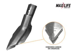 max life cultivator sweep 410-PWV-0418ML