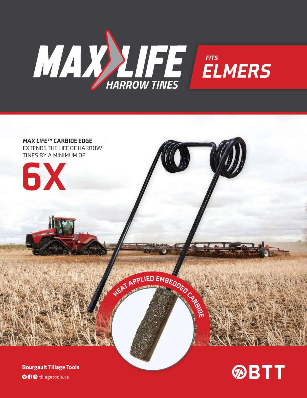 Max Life Harrow Tine fits Elmers.jpg